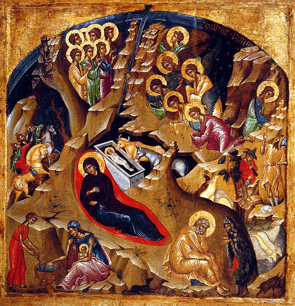 Image: Nativity Icon by Unknown
