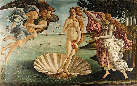 Image: Birth of Venus by Sandro Botticelli