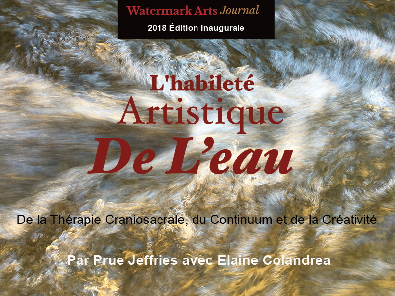 Artistry of Water by Prue Jeffries with Elaine Colandrea (French Translation)