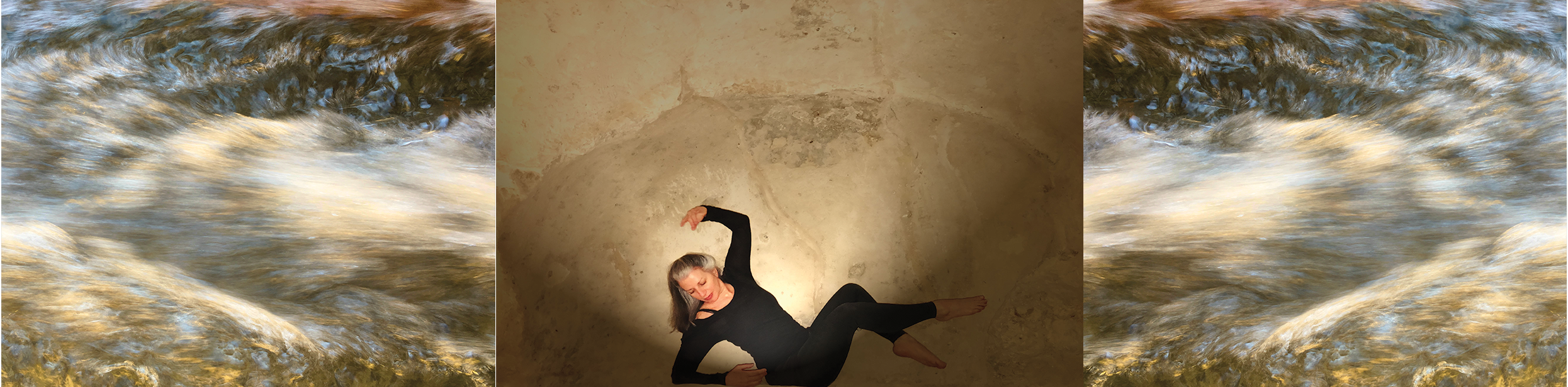 Photos: Elaine Colandrea in Matera & Streams Series by Prue Jeffries