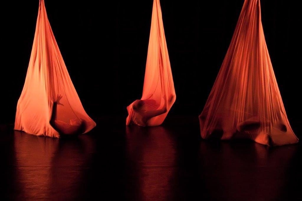 Photo: Morphic Memory. Choreography: Elaine Colandrea, Dancers: Elizabeth Peters, Gisela Stromeyer, Sandra Capellaro