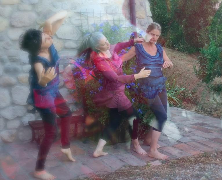 Photo Art: by Prue Jeffries; Images Morena Boschetto, Prue Jeffries Dancers: Elaine Colandrea, Simona Arbizzani & Prue Jeffries